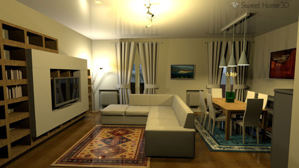 Sweet Home 3D - Interior Design Application for House Plan Layouts W/ 3D preview