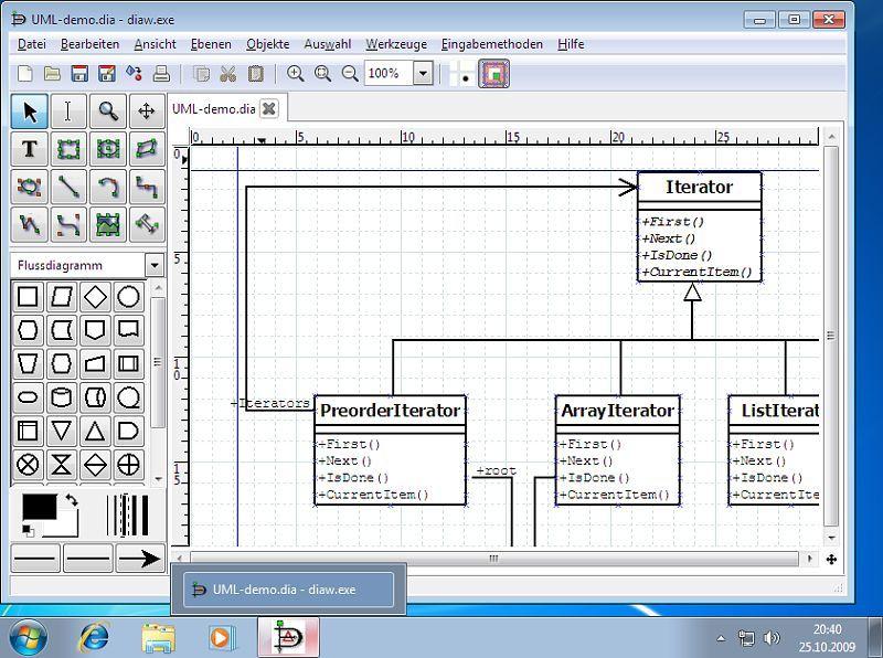 Dia Diagram Editor-Popular General Purpose Drawing Software Compare to MS Visio