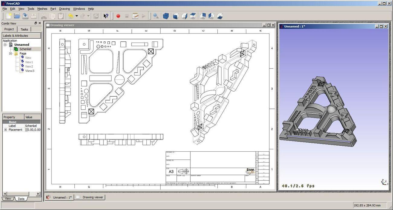 FreeCAD General Purpose Parametric 3D Modeler for CAD etc Compare to Autosketch