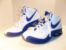 Nike Elite Shox Basketball Shoes Blue/White US ... - $15.99