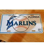 MLB Baseball Florida Miami Marlins Metal License Plate  - $14.84