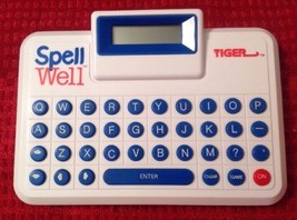 Tiger Electronics Spell Well - Vintage 1989, Nearly Impossible to Find - $8.55