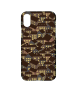 Night Town House Printed Rigid Plastic Hardshell Case Cover for Apple iP... - $19.99