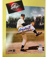 Bobby Shantz Autographed 8x10 Signed Picture w/Leaf COA 1st Gold Glove 1957 #44 - $14.69