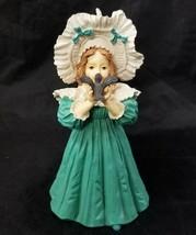 Maud Humphrey Bogart Figurine The Little Captive H1374 Girl Bird COA 145... - $19.34