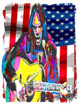 "Neil Young, Singer, Guitar, Lead Guitarist, Crazy Horse CSNY 18""x24"" Art... - $19.99"