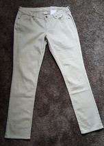 NWT Arizona Casual Skinny  Jeans Color Dark Dune Women's Size 13 Slim Fit - $9.42
