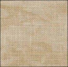 Country Mocha marbled 36ct Edinburgh Linen 36x55 1yd cut Zweigart       - $63.00