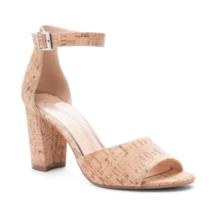 Jessica Simpson Sherron Women Ankle Strap Sandals Natural Cork - $21.86