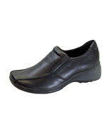 24 HOUR COMFORT Malia Wide Width Casual Leather Slip-On Shoes - $49.95