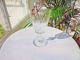 Small Clear Crystal White Wine Glass, Unbranded - $18.80