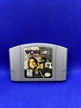 WCW vs. NWO World Tour (Nintendo 64, 1997) Authentic N64 Cart Only - Tested! - $15.73