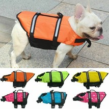 Dog Life Vest Summer Reflective Safety Jacket Pet Swimming Clothing Acce... - $21.99+