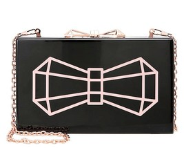 Ted Baker BOW GLITTER CLUTCH NEW - $99.99