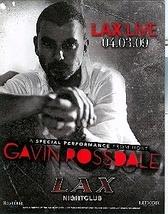 Gavin Rossdale @ LAX Nightclub inside Luxor Hotel Las Vegas Promo Card - $3.95