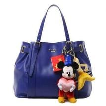D23 EXPO japan 2015 Samantha Thavasa Mickey Sorcerer tote hand bag Blue ... - $553.41