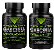 2 bottles Absonutrix Garcinia Cambogia 1550mg/serving - $29.99
