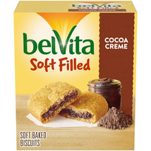 belVita Soft Filled Breakfast Biscuits, Cocoa Creme Flavor, 5 Packs  - $5.00