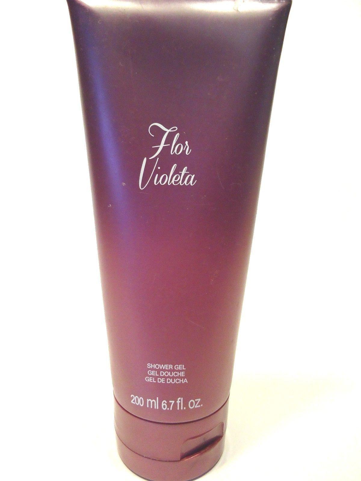 Flor violeta shower gel
