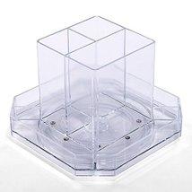 OnDisplay Noah Rotating Acrylic Cosmetic/Desktop Organizer Tray - $9.85