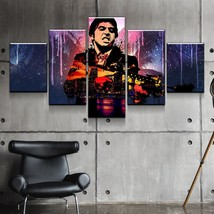 Scarface Gangster Abstract Canvas Wall Art Print Home Decor 5 Piece  - $29.69+