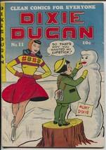 Dixie Dugan #11 1948-ACG-spicy headlights ice skate cover-Good Girl Art-VG+ - $78.18