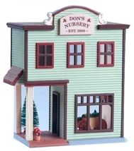 7 Hallmark Nostalgic Houses and Shops includes TOWN HALL MAYORS HOUSE NIB image 3