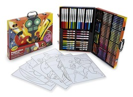 125 Pieces Incredibles 2 Inspiration Art Craft Color Pencils Kids Drawin... - $22.33