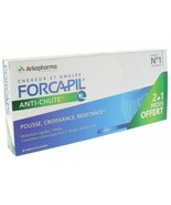 Arkopharma Forcapil头发Activ Keratin 90 Tablets (3x30) 3 Months Hair L... - $44.50