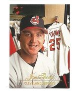 Jim Thome 1994 Studio Card #97 Cleveland Indians Free Shipping - $1.59