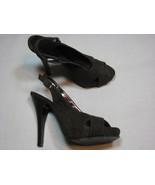 "6 M Xappeal Gideon Faux Suede Leather Ladies High Heel Shoes 5"" Stiletto... - $18.99"
