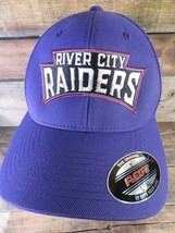 River City RAIDERS Indoor Football St Louis Fitted Size L/XL Adult Cap Hat - $14.84