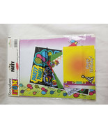 Scrapbook Fun Page Kit PARTY Acid Free Memory Maker Bright Colors  - $12.95