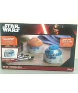 Thank Geek Disney Star Wars R2-D2 Cupcake Pan 4 Molds Microwave Dishwash... - $17.45