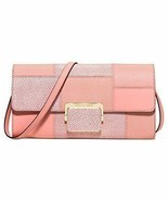 Michael Kors Cynthia Large Clutch pale pink/Gold - $98.00
