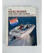 MerCruiser 1998-2004 Stern Drive Boat Engine Repair Manual : B745-2 Alph... - $29.69