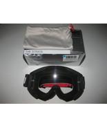 100% The Strata Goggle Slash Black - Clear Lens - New Unused - $59.39