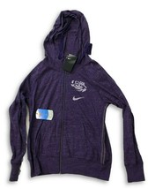 NWT New LSU Tigers Nike Vintage Full-Zip Women's Size Medium Hooded Swea... - $49.26