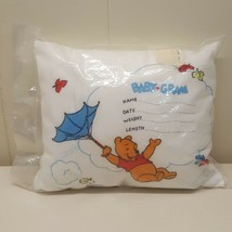 Sears Winnie Pooh Personalized Pillow Birth Certificate Keepsake Sealed ... - $49.45