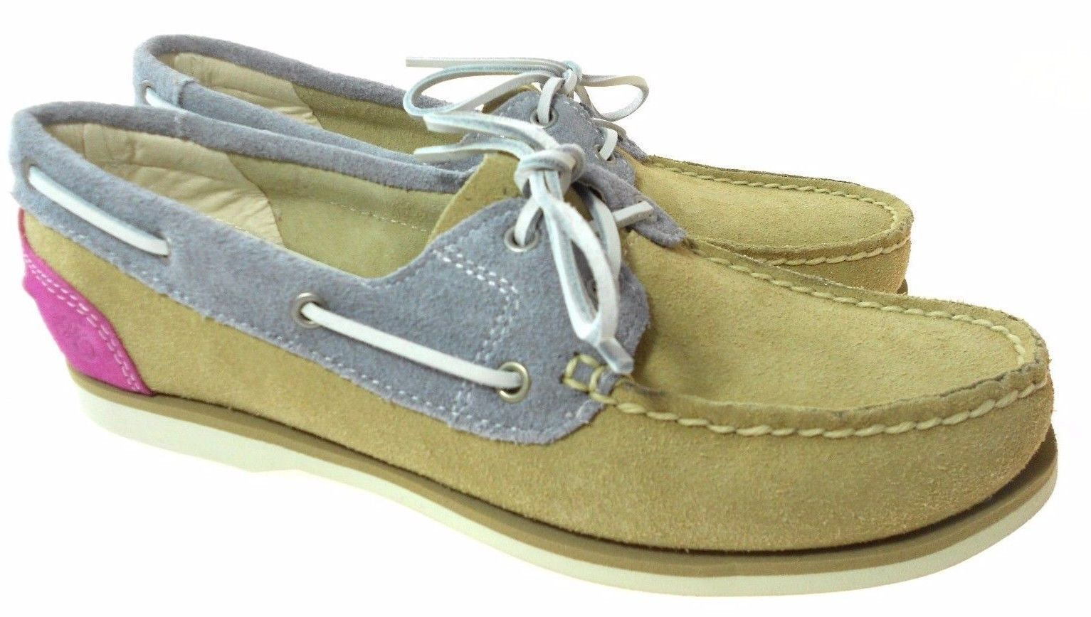 Primary image for TIMBERLAND 8018B CLASSIC WOMEN'S SUEDE BOAT SHOES