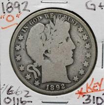 1892O Silver Barber Half Dollar 50¢ Coin Lot# A 616
