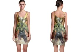 hulk cover color battleartist Bodycon Dress - $21.99+
