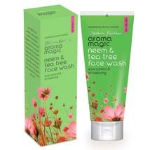 Aroma Magic Neem & Tea Tree Face Wash 100 ML Free ship world wide - $9.36+