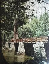 "Vintage 50s Whitman Bonus Interlocking Border Jigsaw Puzzle- #4651 ""Bridge""  image 2"
