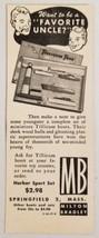 1948 Print Ad Miniature Tillicum Toy Boats Milton Bradley Springfield,MA - $10.87