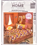 McCalls 3212 Home Decor Bedroom, Window Treatment Butterfly Chair sewing... - $12.00
