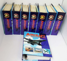 Aircraft of the World The Complete Guide Eight 8 Volumes Full Binders 16... - $167.90