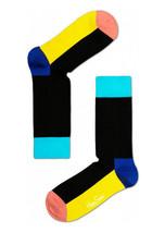 Happy Socks Unisex Combed Cotton Crew Five Color in Black - $10.80