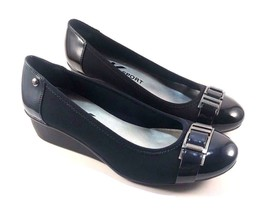 Anne Klein Sport 7Daffney Round Toe Low Wedge Shoe Choose Sz/Color - $69.00