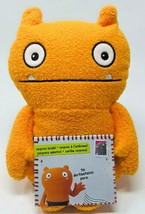 Hasbro UGLY DOLL Warm Wishes Wage Orange 10 inch Plush Stuffed Animal Toy - $5.99